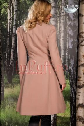 palton-dama-elegant-bej-rose