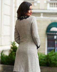 palton gros de lana