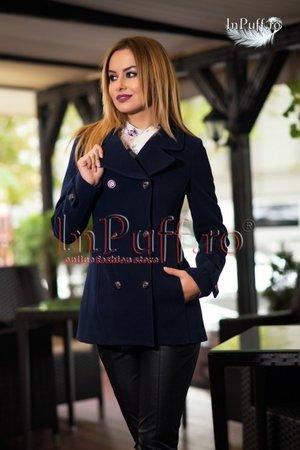 palton-scurt-bleumarin