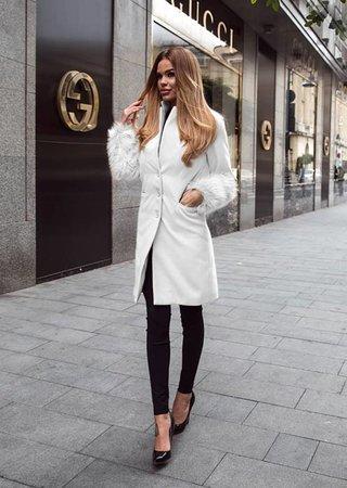 palton-alb-cu-blana