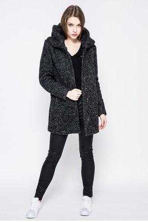 palton scurt cu fermoar