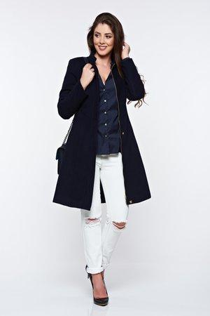 palton albastru xxl