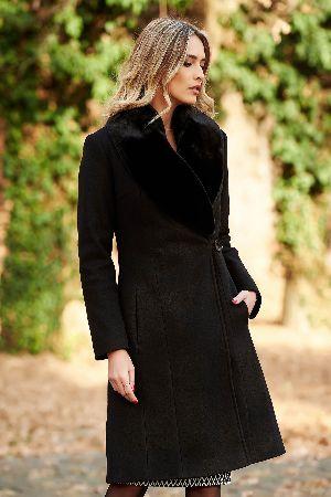 paltn negru lana