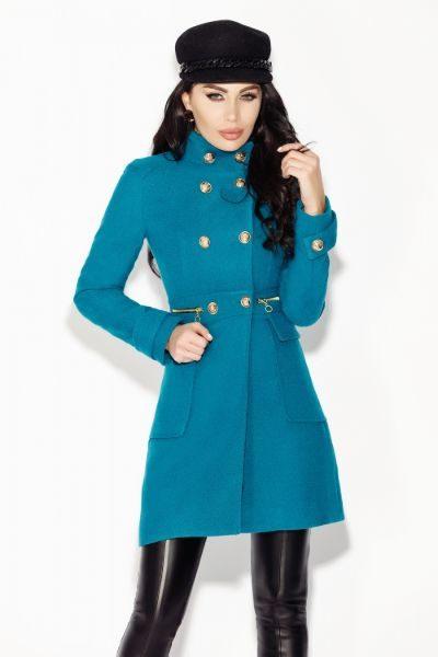 palton-turquoise-din-stofa