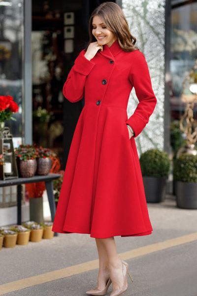 palton-dama-elegant-rosu