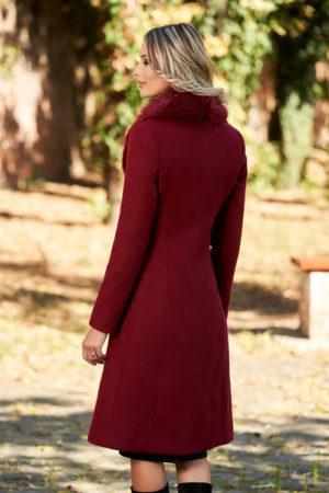 palton visiniu dama