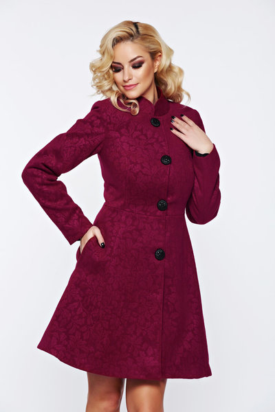 palton elegant din stofa