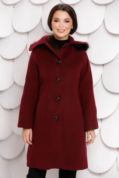 palton rosu marimi mari