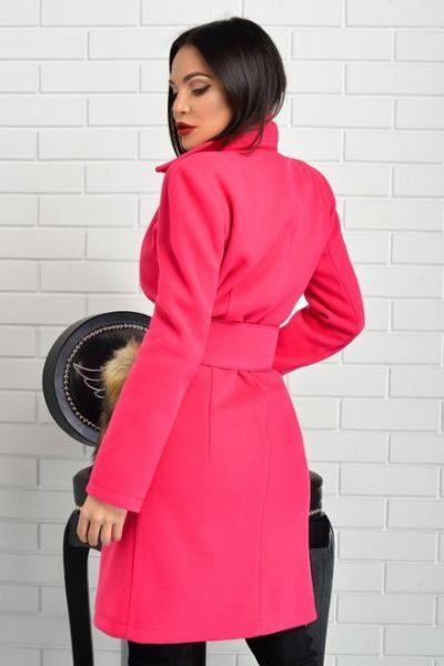 palton dama pink