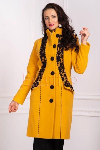 palton galben