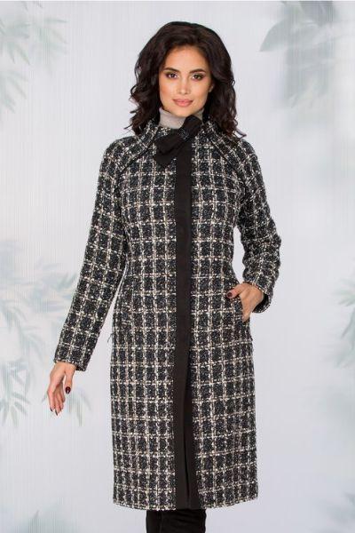 palton imprimeu geometric