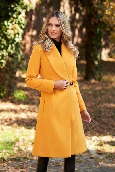 palton mustariu