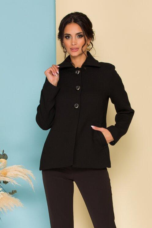 palton scurt cu nasturi