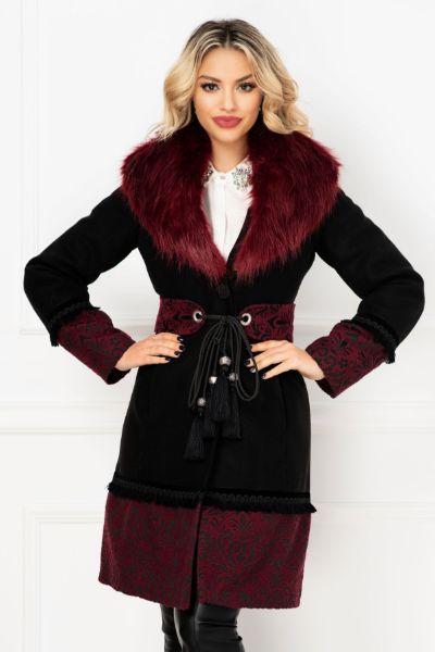 palton tesatura