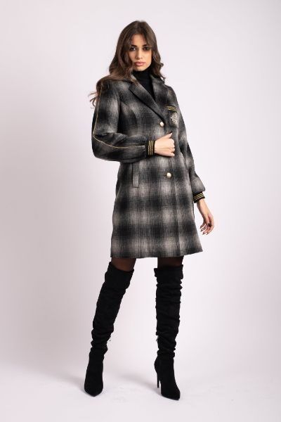 palton iarna scurt