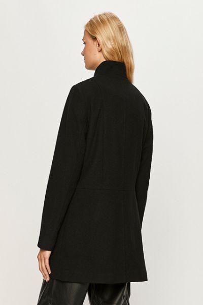 palton negru dama