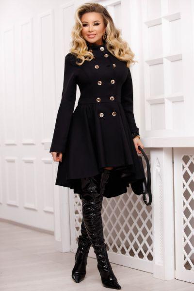 palton negru frac