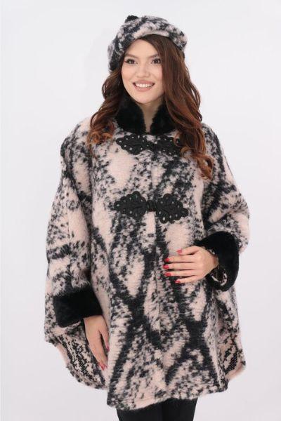 poncho bereta lana