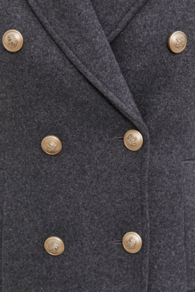 palton de iarna cu nasturi