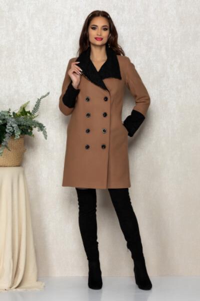 Paltonul mediu dama de iarna